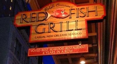 Photo of American Restaurant Red Fish Grill at 115 Bourbon St, New Orleans, LA 70130, United States