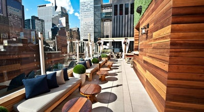Photo of Cocktail Bar Haven Rooftop  at 132 W 47th St, New York, NY 10036, United States