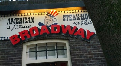 Photo of American Restaurant American Steakhouse Broadway at Oudegracht 139 A/d Werf, Utrecht 3511 AJ, Netherlands