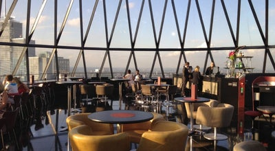 Photo of Modern European Restaurant Searcys | The Gherkin at 30 St Mary Axe, London EC3A 8EP, United Kingdom