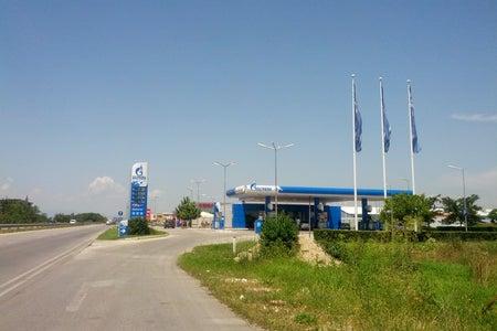 Gazprom Карловско шосе