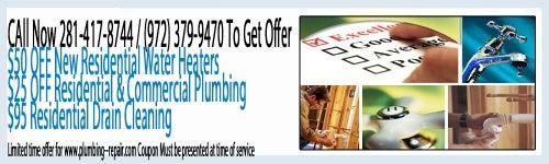 Plumbing Repair Dallas