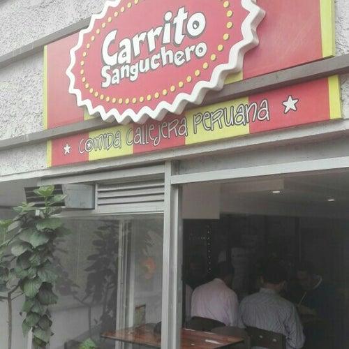 Carrito Sanguchero Calle 96 en Bogotá