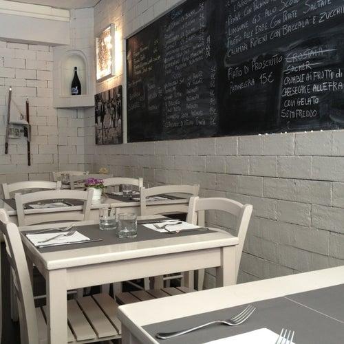 Best seafood restaurants in Rome