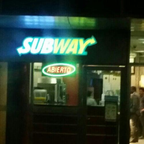 Subway Hangar de Carga en Bogotá
