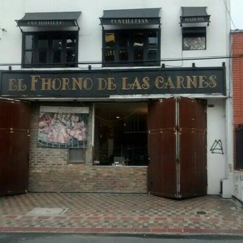 El Horno de las Carnes en Bogotá