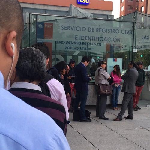 Registro Civil e Identificación - Las Condes en Santiago