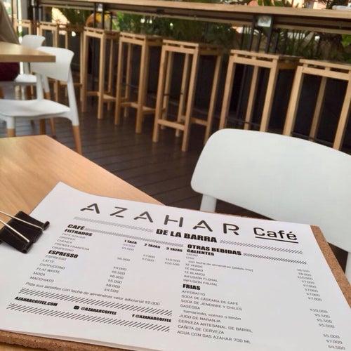 Azahar Café en Bogotá