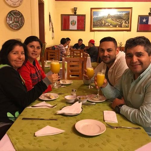 Rosita Ríos en Santiago
