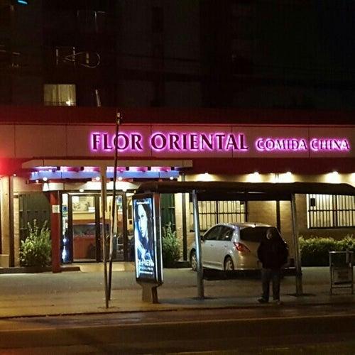 Restaurant Flor oriental en Santiago
