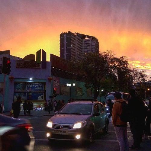 Centro Comercial Alonso Ovalle en Santiago