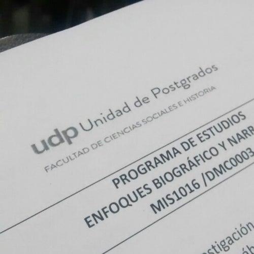 Universidad Diego Portales - Facultad de Ciencias Sociales e Historia en Santiago