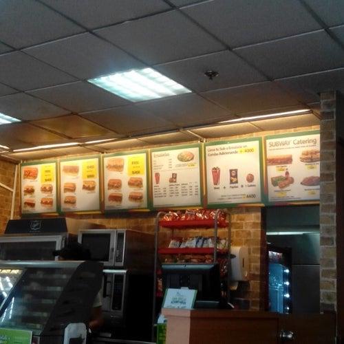 Subway Centro Internacional en Bogotá