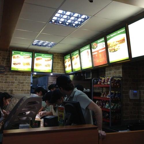 Subway Calle 90 con 13 en Bogotá