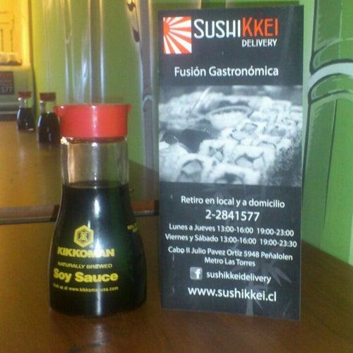 Sushikkei en Santiago