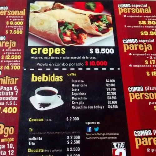 The3go Empanadas en Bogotá