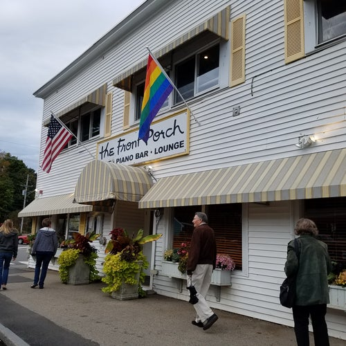 front porch gay bar maine