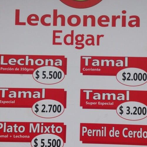 Edgar Lechonería Tolimense en Bogotá