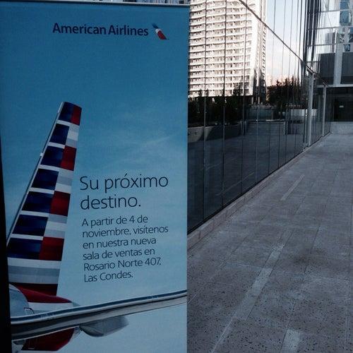 American Airlines Las Condes  en Santiago