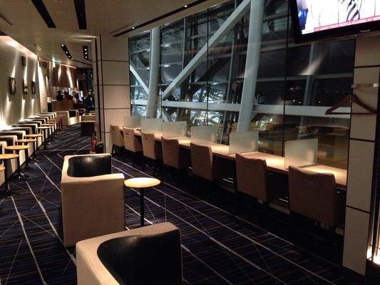 Kix Airside Lounge Osaka Kansai International Kix
