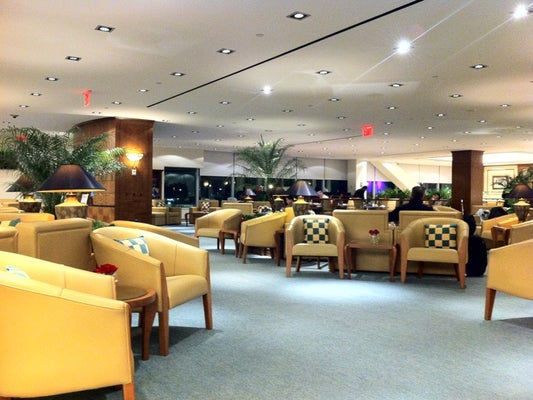 The Emirates Lounge – JFK (CLOSED) (New York, NY - J.F. Kennedy International (JFK))