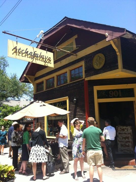 Cafe Atchafalaya Menu