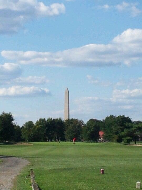 East Potomac Park Golf Course