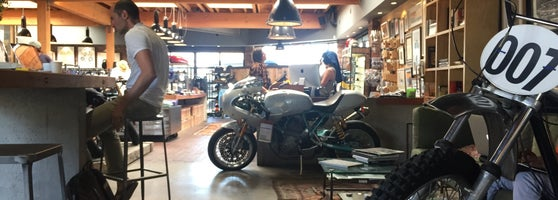 Bad Ass Coffee And Motorcycle Shop Definitely Worth Checking Out Although Watch For The Limited Parking