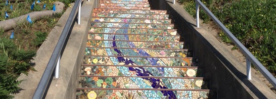 Amazing Neighborhood Collaboration. The Beauty Of The Stairs Is Matched By  The Panoramic Ocean View.