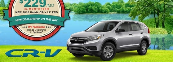 Lease A New 2016 Honda CR V LX AWD For Only $229 Per Month. Only At  Spokaneu0027s Number One Honda Dealership Larry H. Miller Honda! Browse Our  Entire Selection ...