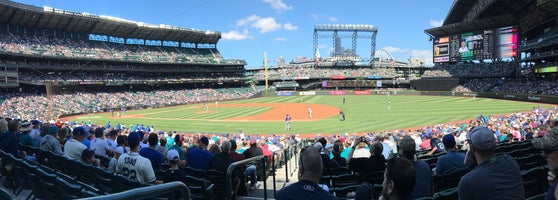 Safeco Field Baseball Stadium In Seattle