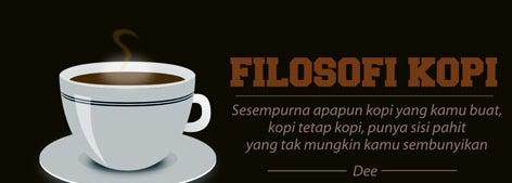 sesempurna apapun kopi yang kamu buat tetap punya sisi pahit tak mungkin sembunyikan dee