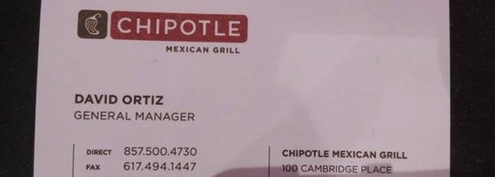 Chipotle Mexican Grill - East Cambridge - Cambridge, MA on