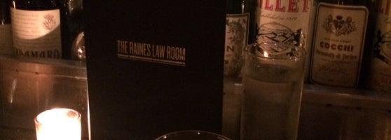 The Raines Law Room At The William Speakeasy In New York