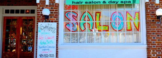 A Little Off The Top Salon Of Sweetgrass Salon Spa Little Five Points 483 Moreland
