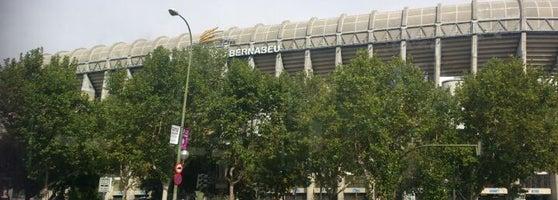 Estadio santiago bernab u soccer stadium in madrid for Puerta 23 bernabeu