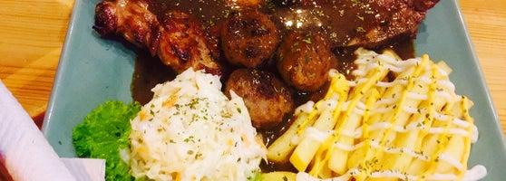 Tempat Makan Best di Shah Alam: lidi western food station