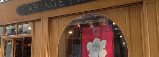 Mariage fr res tea room in h tel de ville for Maisons de the mariage freres
