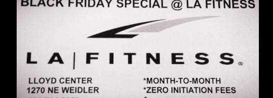 la black fitness sale friday