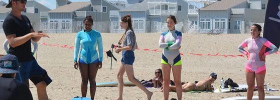Head To Rockaway Beach With A Few Adventurous Buds For Beachside Surf Lesson Locals School