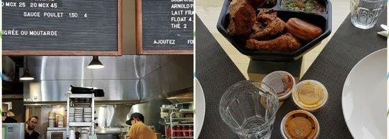 Dinette triple crown rosemont la petite patrie for Ares montreal cuisine