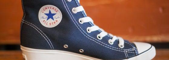 zapatillas converse con taco