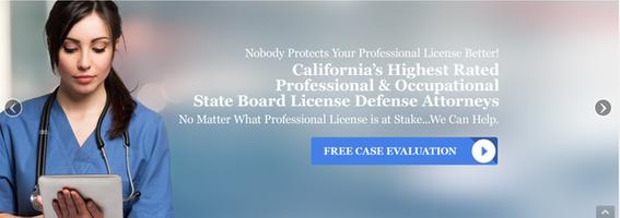 California License Attorney