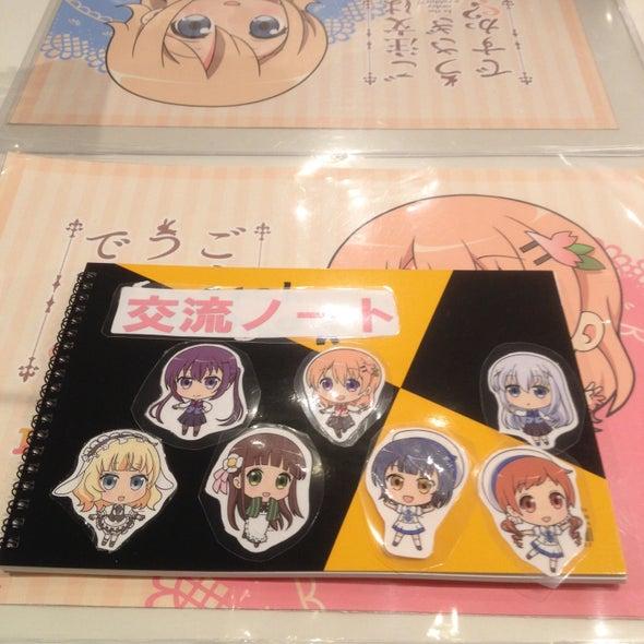 プリンセスカフェ 名古屋栄館 ごちうさ(ご注文はうさぎですか??)交流ノート