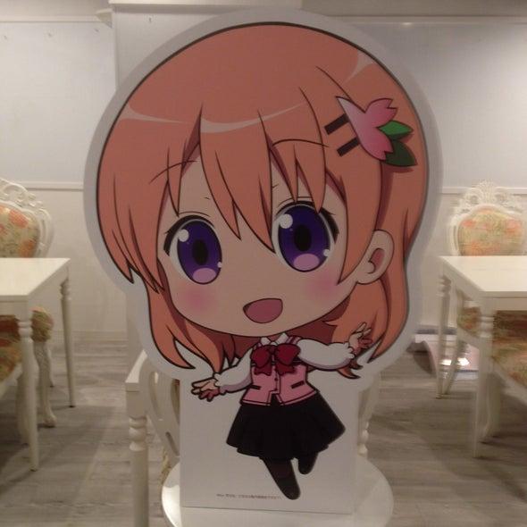プリンセスカフェ 名古屋栄館 ごちうさ(ご注文はうさぎですか??)パネル(ココア)