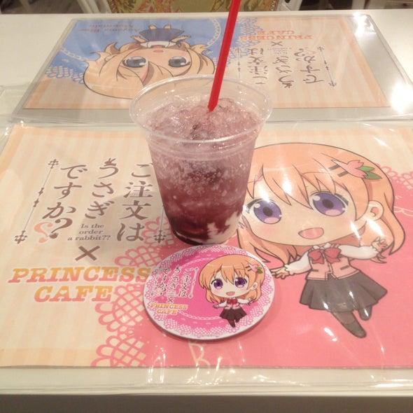 プリンセスカフェ 名古屋栄館 ごちうさ(ご注文はうさぎですか??)リゼのCQCグレープ