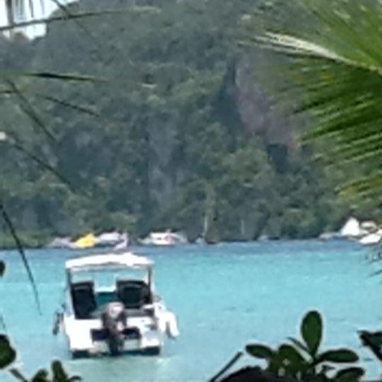 Photo taken at Phi Phi Island by Ei Ei N. on 5/23/2012