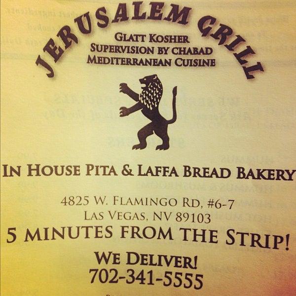Photo taken at Jerusalem Grill by Lawrence B. on 6/10/2012