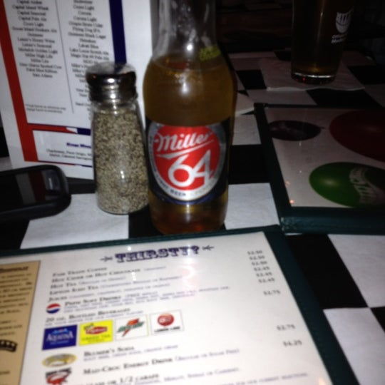 Photo taken at Nitty Gritty Restaurant & Bar by Zach D. on 5/5/2012