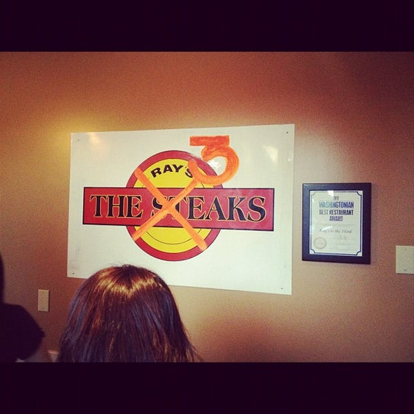 Photo taken at Ray's Hell Burger by Bill L. on 8/11/2012